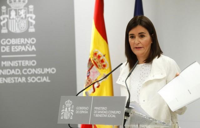 وزيرة الصحة الإسبانية، كارمن مونتون