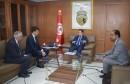 وزير الصناعة و المؤسسات الصغرى و المتوسطة يستقبل مسؤولي شركتي بتروفاك و بيرنكو