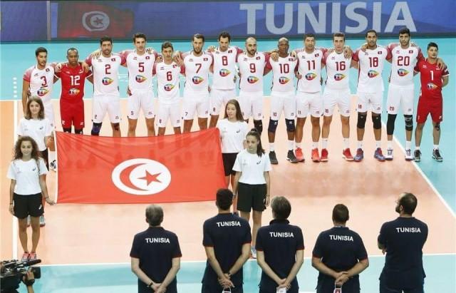 المنتخب الوطني التونسي لكرة الطائرة
