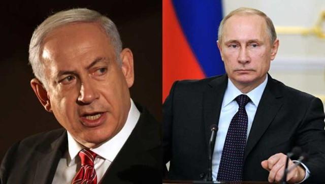 بوتين و نتنياهو