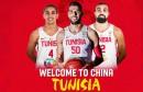 basket tunisie china