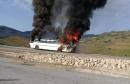 بنزرت: نشوب حريق في حافلة نقل عمال أحد المصانع بماطر دون تسجيل أية خسائر بشرية
