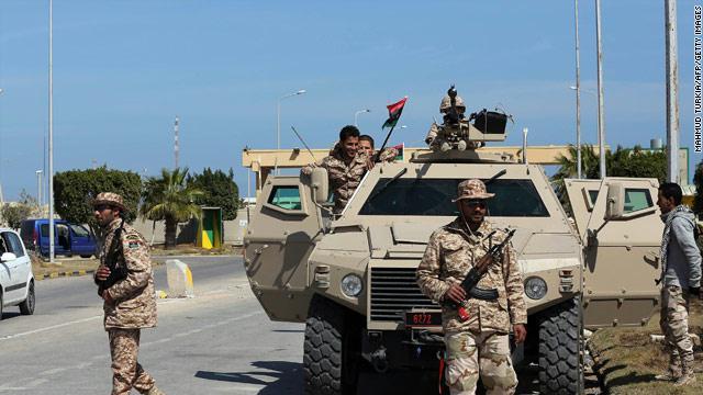 قوات شرق ليبيا