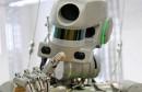 روبوت على هيئة انسان الى الفضاء
