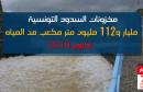مخزونات السدود التونسية ترتفع الى مليار و 112 متر مكعب
