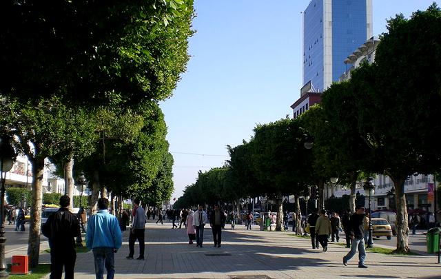 avenue hbib bourguiba