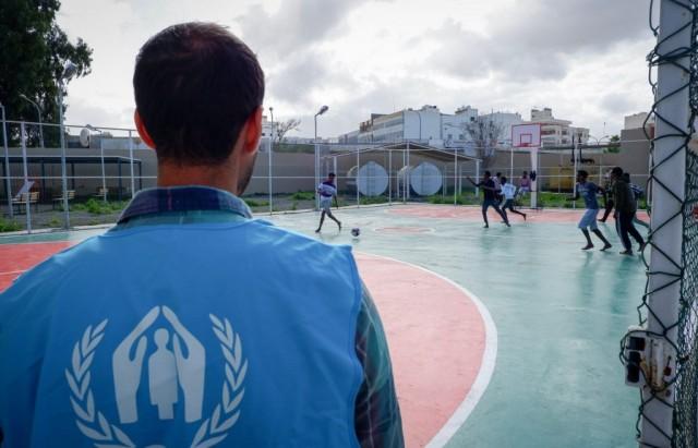 افتتاح أول مركز خاص لحماية اللاجئين في ليبيا