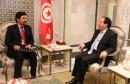 السيد معتوق بوراوي المبعوث الخاص لوزير الخارجية بحكومة الوفاق الوطني الليبية الحاج محمد الطاهر سيالة