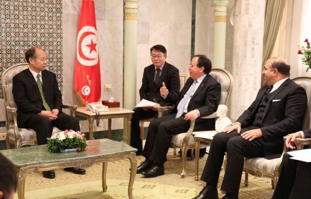 الوكالة الصينية للتعاون الدولي من أجل التنمية برتبة نائب وزير Wang Xiaotao