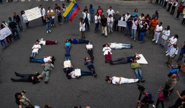 احتجاجات الفنزوالا