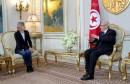 رئيس الجمهورية يتحادث مع رئيسة لجنة الشؤون الخارجية بالمجلس الوطني الفرنسي