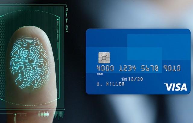 biometric pay بطاقة بنكية بالبصمة بدلا من الرقم السري