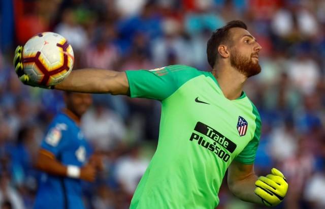 الحارس اوبلاك يمدد عقده مع اتليتيكو مدريد حتى 2023