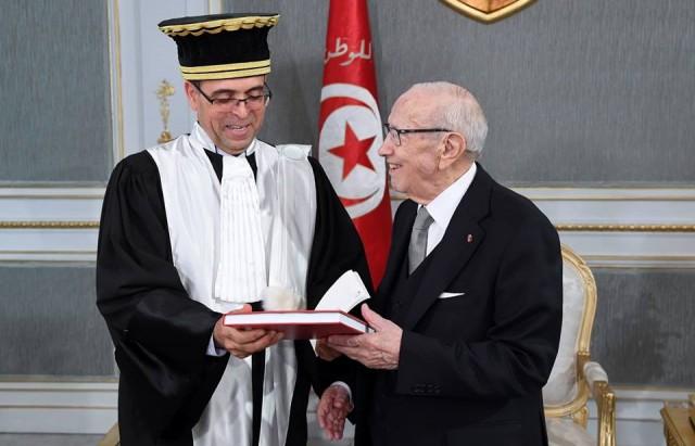نجيب القطاري الرئيس الأوّل لمحكمة المحاسبات