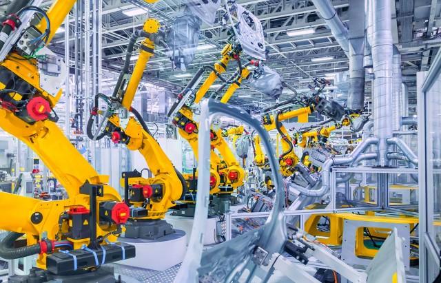 robot industrie