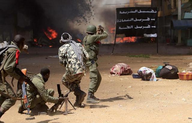 هجوم مسلح مالي
