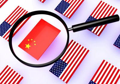 امريكا و الصين
