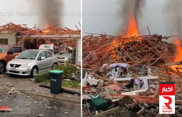نيوزيلندا بإخلاء مبان قرب موقع انفجار غاز