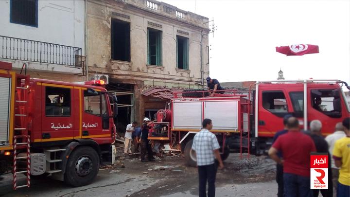 وفاة شخص اثر انفجار قارورة غاز بمقهى15-07