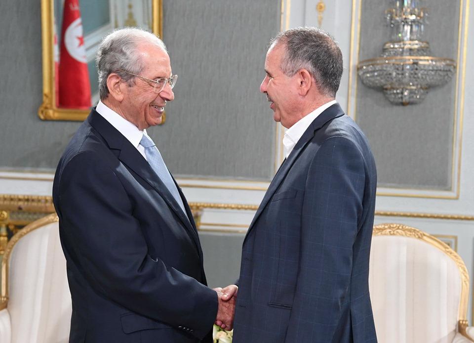 رئيس الجمهورية يلتقي بالأمين العام للاتحاد العام التونسي للشغل بقصر قرطاج