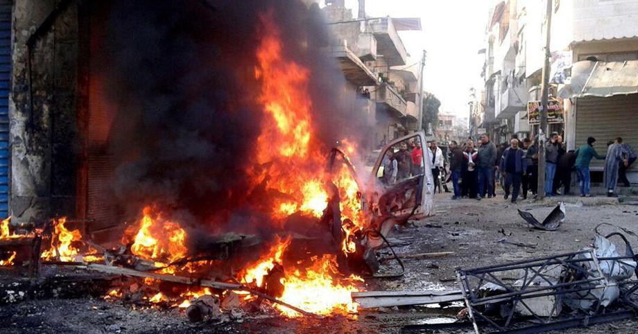 سيارة ملغومة في مدينة بنغازي