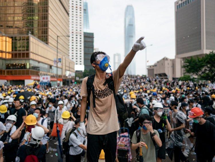 احتجاجات هونق كونق