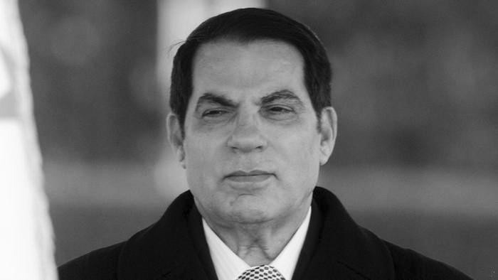 الرئيس الأسبق زين العابدين بن علي