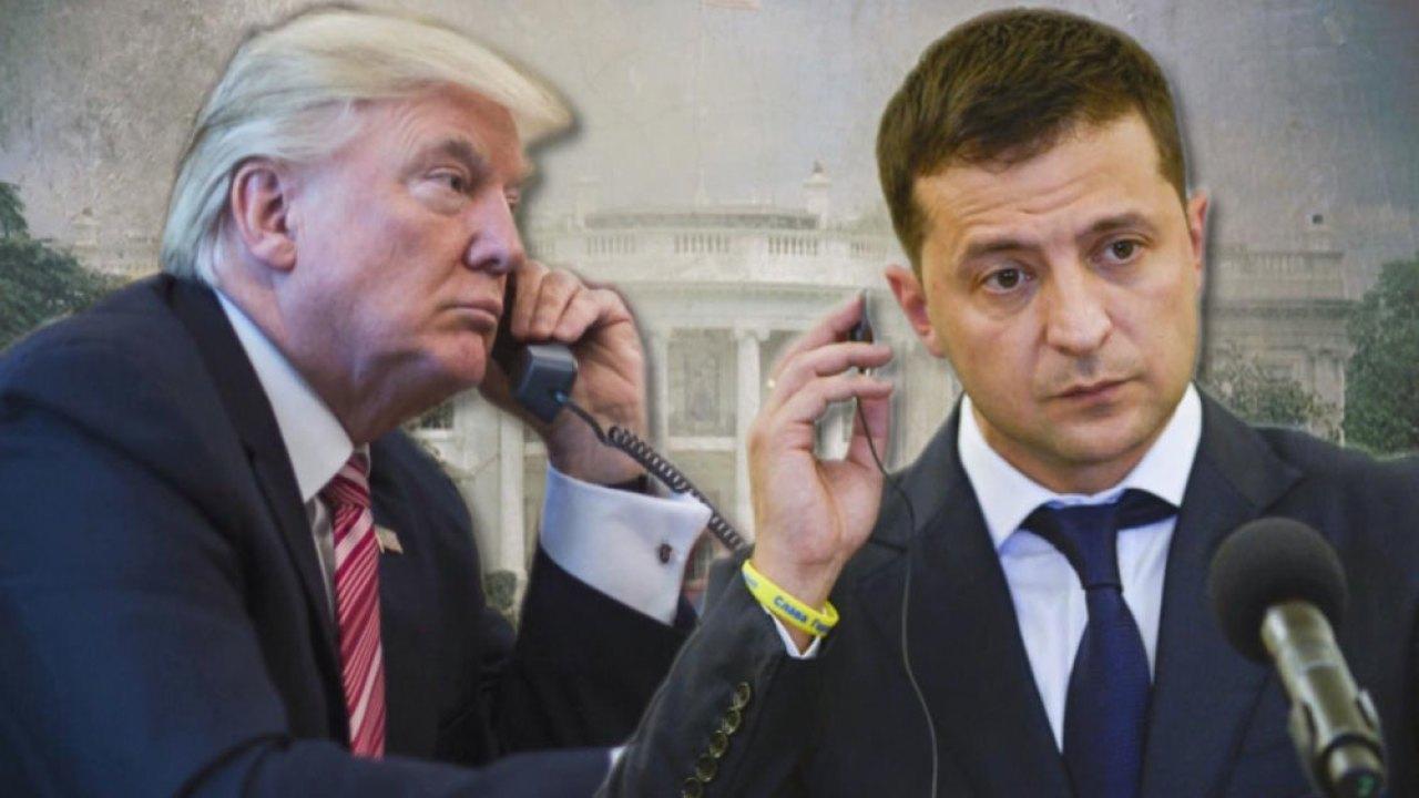 ترامب و فلاديمير زلنسكي رئيس اكرانيا