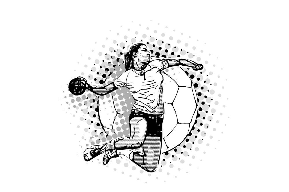 كرة اليد نسائية