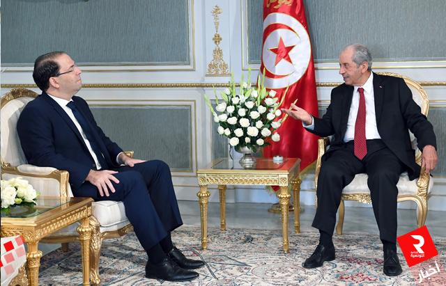 الأوضاع الأمنية والإقتصادية بالبلاد أبرز محاور المحادثة بين رئيس الدولة ورئيس الحكومة