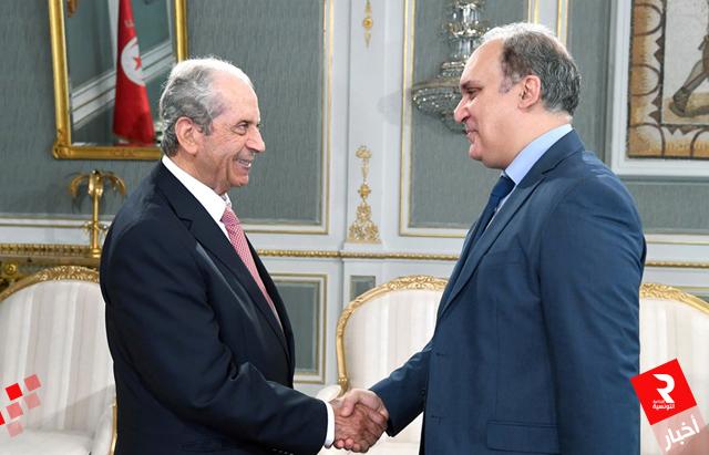 تأمين حسن سير الانتخابات التشريعية ومستجدات الانتخابات الرئاسية محور لقاء الناصر مع بفون