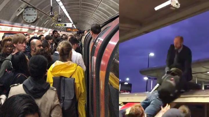 نشطاء-تغير-المناخ-يعطلون-القطارات-في-شرق-لندن