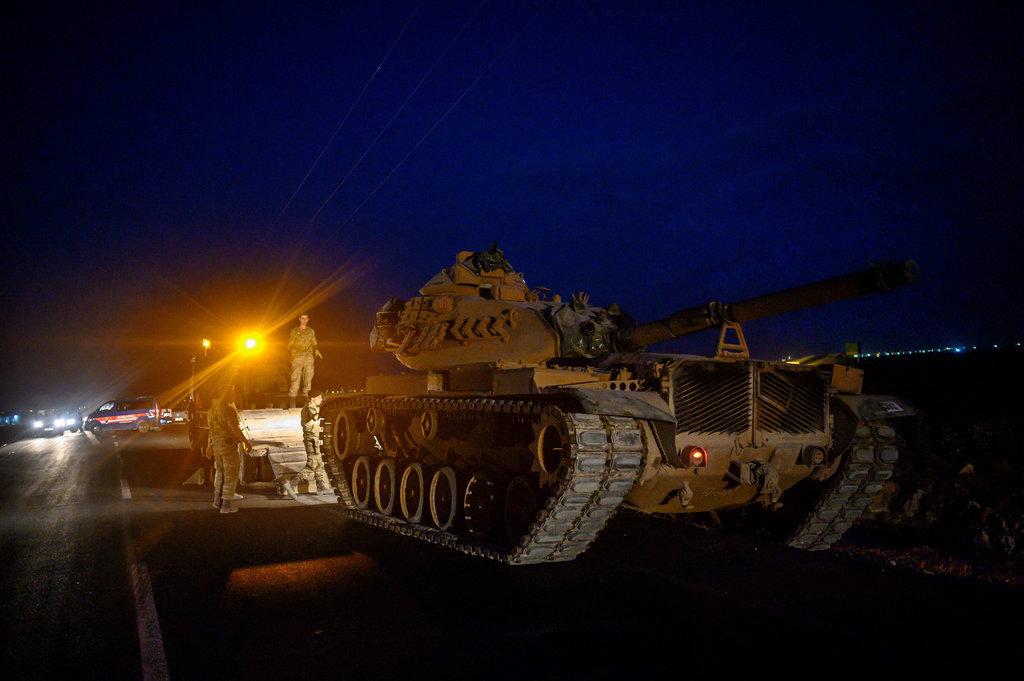 جيش تركي في سوريا