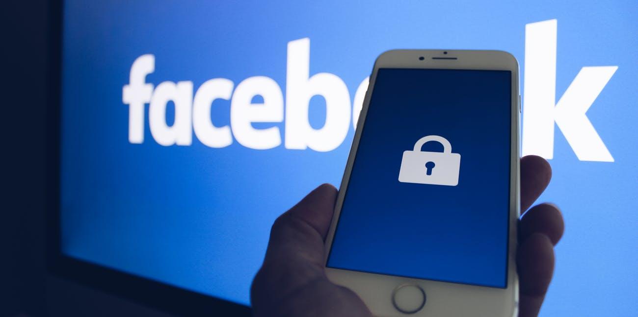 facebook securite donnee