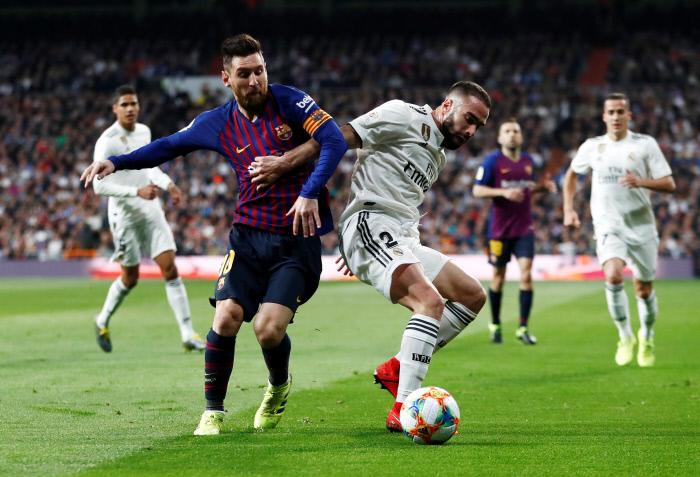 FOOTBALL : Coupe du roi  - Real Madrid v FC Barcelone - 27/02/2019