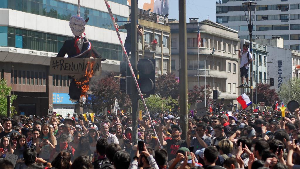 مظاهرات الشيلي