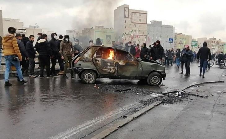 احتجاجات ايران