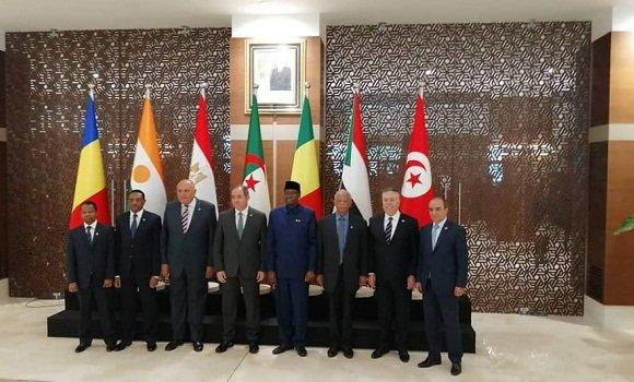 انطلاق أشغال اجتماع وزراء خارجية دول الجوار الليبي بالجزائر