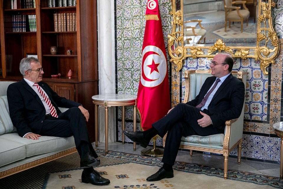 رئيس الحكومة يستقبل سفير المانيا بتونس