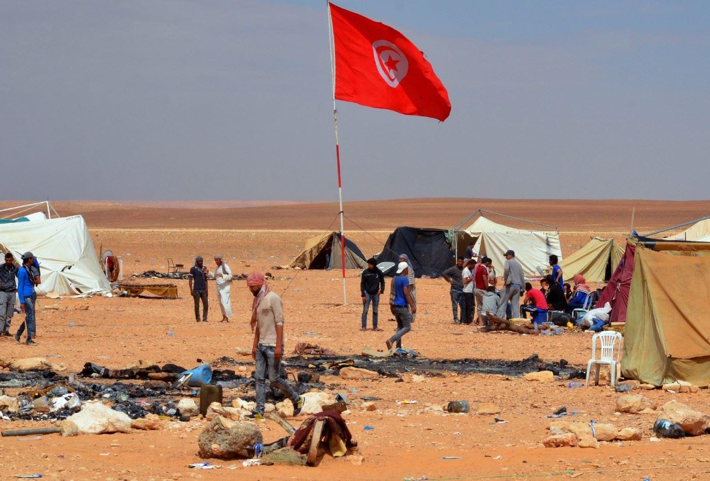 Kamour-sit-in-LEconomiste-Maghrébin