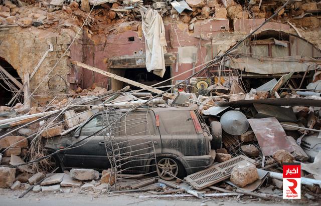 ارتفاع عدد ضحايا انفجار مرفأ بيروت إلى 154