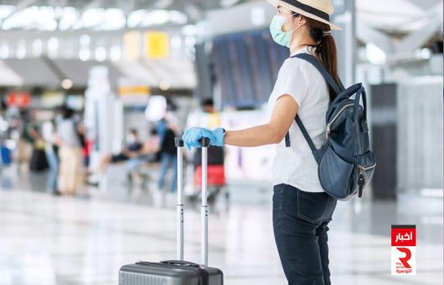 مطار كورونا تحاليل aeroport corona test