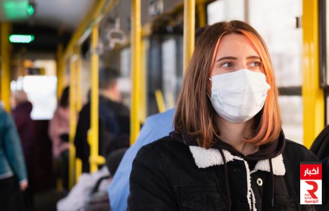 masque corona Transport كورونا نقل حماية تباعد وقاية