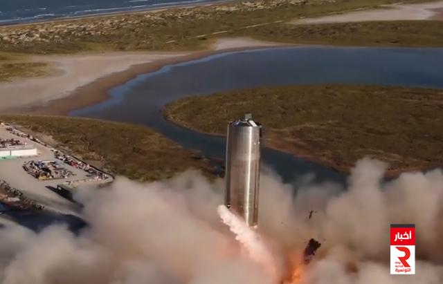 spacex mars navette صاروخ المستقبل إلى المريخ