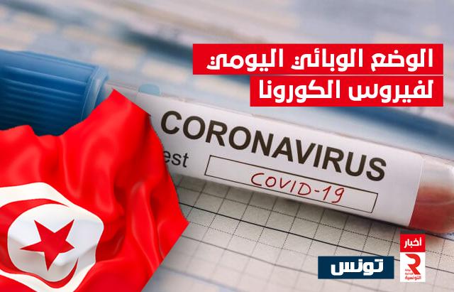 test_jour_corona الوضع الوبائي اليومي لفيروس الكورونا تونس
