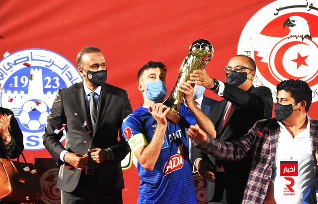 الاتحاد المنستيري يتوج بلقب كأس تونس الحبيب بورقيبة