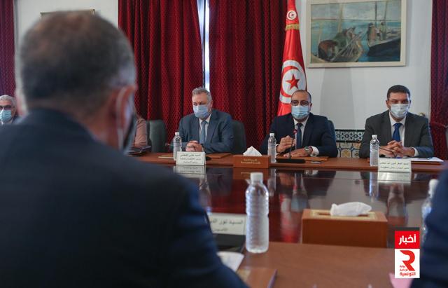 انطلاق أولى جلسات العمل بين الحكومة والاتحاد العام التونسي للشغل