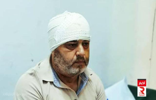 تعرض النائب عن ائتلاف الكرامة أحمد موحة إلى اعتداء بواسطة آلة حادة